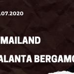 AC Mailand - Atalanta Bergamo Tipp 24.07.2020
