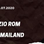 Lazio Rom - AC Mailand Tipp 04.07.2020
