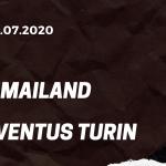 AC Mailand - Juventus Turin Tipp 07.07.2020