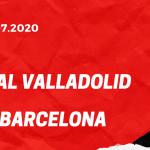 Real Valladolid - FC Barcelona Tipp 11.07.2020