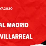 Real Madrid - FC Villarreal Tipp 16.07.2020
