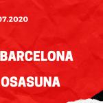 FC Barcelona - CA Osasuna Tipp 16.07.2020