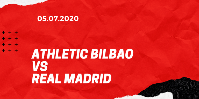 Athletic Bilbao - Real Madrid Tipp 05.07.2020