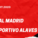 Real Madrid - Deportivo Alaves Tipp 10.07.2020