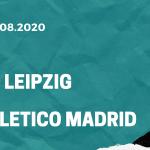 RB Leipzig - Atletico Madrid Tipp 13.08.2020