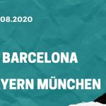 FC Bayern München - FC Barcelona Tipp 14.08.2020