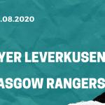 Bayer Leverkusen - Glasgow Rangers Tipp 06.08.2020