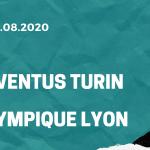 Juventus Turin - Olympique Lyon Tipp 07.08.2020