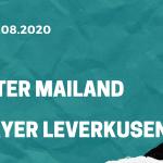 Inter Mailand - Bayer Leverkusen Tipp 10.08.2020