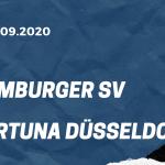 Hamburger SV - Fortuna Düsseldorf Tipp 18.09.2020