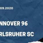 Hannover 96 - Karlsruher SC Tipp 19.09.2020
