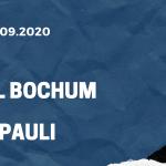 VfL Bochum - FC St. Pauli Tipp 21.09.2020