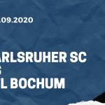 Karlsruher SC - VfL Bochum Tipp 27.09.2020