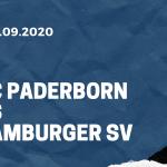 SC Paderborn - Hamburger SV Tipp 28.09.2020