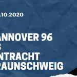 Hannover 96 - Eintracht Braunschweig Tipp 03.10.2020