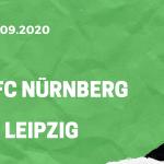 1.FC Nürnberg – RB Leipzig Tipp 12.09.2020