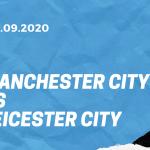 Manchester City - Leicester City Tipp 27.09.2020