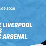 FC Liverpool - FC Arsenal Tipp 28.09.2020