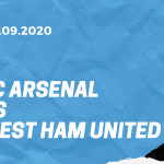 FC Arsenal - West Ham United Tipp 19.09.2020