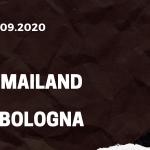 AC Mailand - FC Bologna Tipp 21.09.2020