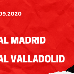 Real Madrid - Real Valladolid Tipp 30.09.2020
