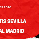 Betis Sevilla - Real Madrid Tipp 26.09.2020