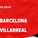 FC Barcelona - FC Villarreal Tipp 27.09.2020