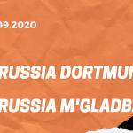 Borussia Dortmund – Borussia Mönchengladbach Tipp 19.09.2020