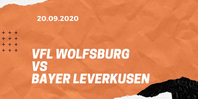 VfL Wolfsburg – Bayer 04 Leverkusen Tipp 20.09.2020