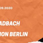 Borussia Mönchengladbach – 1. FC Union Berlin Tipp 26.09.2020