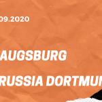 FC Augsburg - Borussia Dortmund Tipp 26.09.2020