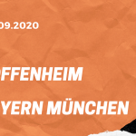 TSG 1899 Hoffenheim – FC Bayern München Tipp 27.09.2020