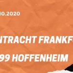 Eintracht Frankfurt – TSG 1899 Hoffenheim Tipp 03.10.2020
