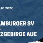 Hamburger SV - Erzgebirge Aue Tipp 04.10.2020
