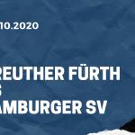 SpVgg Greuther Fürth - Hamburger SV Tipp 17.10.2020