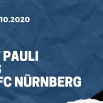 FC St. Pauli - 1. FC Nürnberg Tipp 19.10.2020