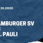 Hamburger SV - FC St. Pauli Tipp 30.10.2020