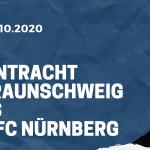 Eintracht Braunschweig - 1. FC Nürnberg Tipp 31.10.2020