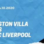 Aston Villa - FC Liverpool Tipp 04.10.2020