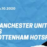 Manchester United - Tottenham Hotspur Tipp 04.10.2020