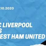 FC Liverpool - West Ham United Tipp 31.10.2020