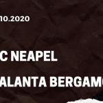 SSC Neapel - Atalanta Bergamo Tipp 17.10.2020
