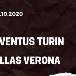 Juventus Turin - Hellas Verona Tipp 25.10.2020