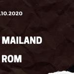 AC Mailand - AS Rom Tipp 26.10.2020
