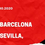 FC Barcelona - FC Sevilla Tipp 04.10.2020
