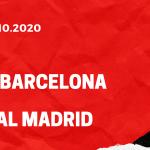 FC Barcelona - Real Madrid Tipp 24.10.2020