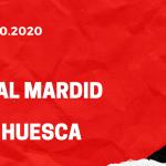 Real Madrid - SD Huesca Tipp 31.10.2020