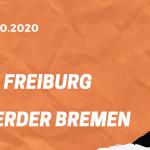 SC Freiburg – SV Werder Bremen Tipp 17.10.2020