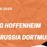 TSG 1899 Hoffenheim – Borussia Dortmund Tipp 17.10.2020