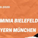 Arminia Bielefeld – FC Bayern München Tipp 17.10.2020